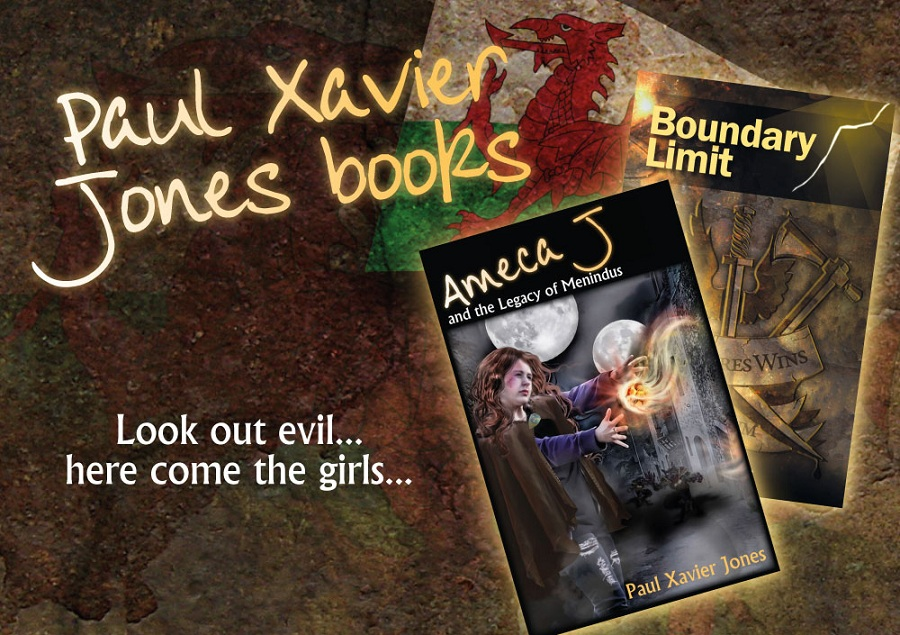 Paul Xavier Jones Books - Look out evil.... here come the girls...